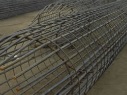 Rebar Cages Welded Steel Pile Cage For Concrete