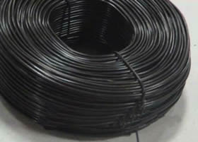Specifications, processing and photo of rebar tying wire.