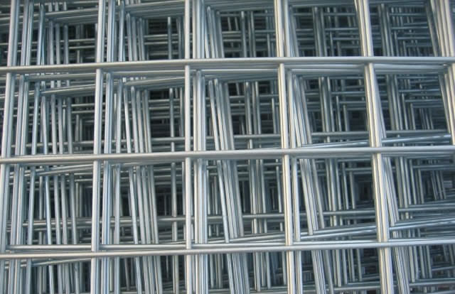 Welded Wire Mesh Panels For Construction Materials Used